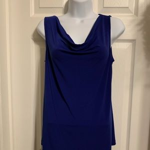 Liz Claiborne blouse, royal blue